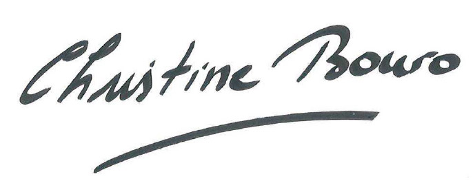 Signature Christine Bouro